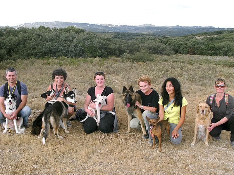 Dogspirit - Balade éducative - Cours collectif - 16 octobre 2011