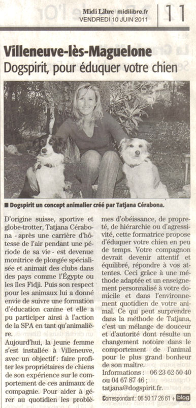 dogspirit_livre_d_or_article_midi_libre_education_canine_positive