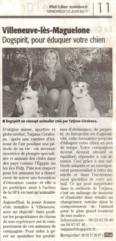 dogspirit_livre_d_or_article_midi_libre_education_canine_positive