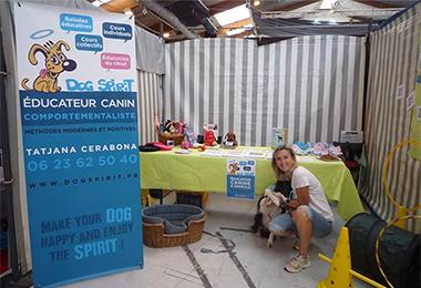 Dogspirit - Salon du chiot Palavas 2015