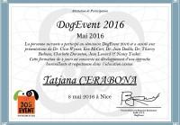 Tatjana Cerabona - séminaire Dog Event 2016