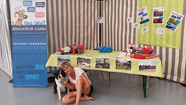 Dogspirit - Stand éducation canine au Salon du Chiot à Palavas - 2016